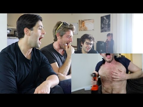 REACTING TO DAVID'S VLOGS!!!!