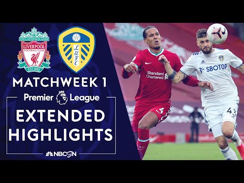 Liverpool v. Leeds United | PREMIER LEAGUE HIGHLIGHTS | 9/12/2020 | NBC Sports