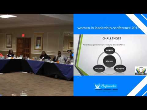 women in leadership conference #Ms Steve Letsike  -Capacity For Transformation