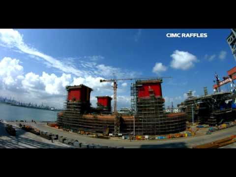 North Dragon info film - Yantai CIMC Raffles Yard