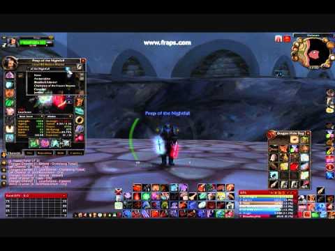 World of Warcraft - Of the Nightfall Title WotLK