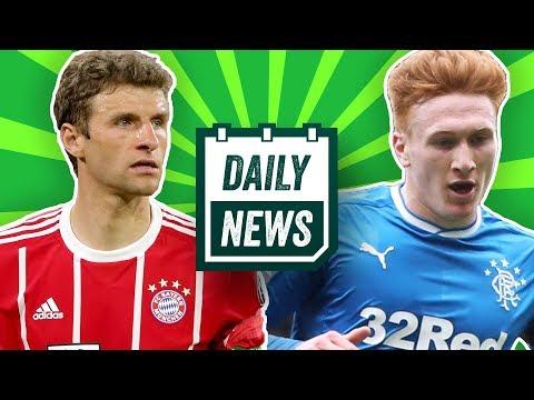 CL: FC Bayern vs. Real Madrid! Kovac zu Bayern! HSV holt Rangers-Verteidiger! Daily News