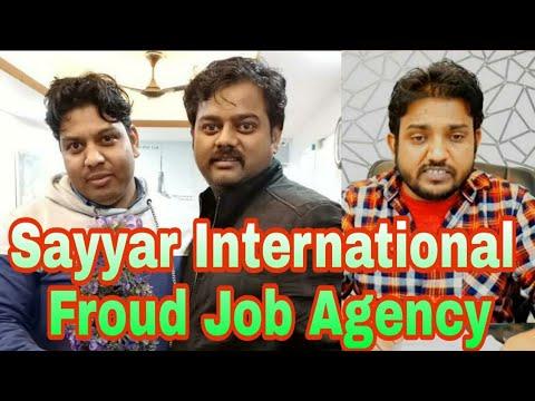 Sayyar International Fraud Job Agency (Nawaz Khan Chor)