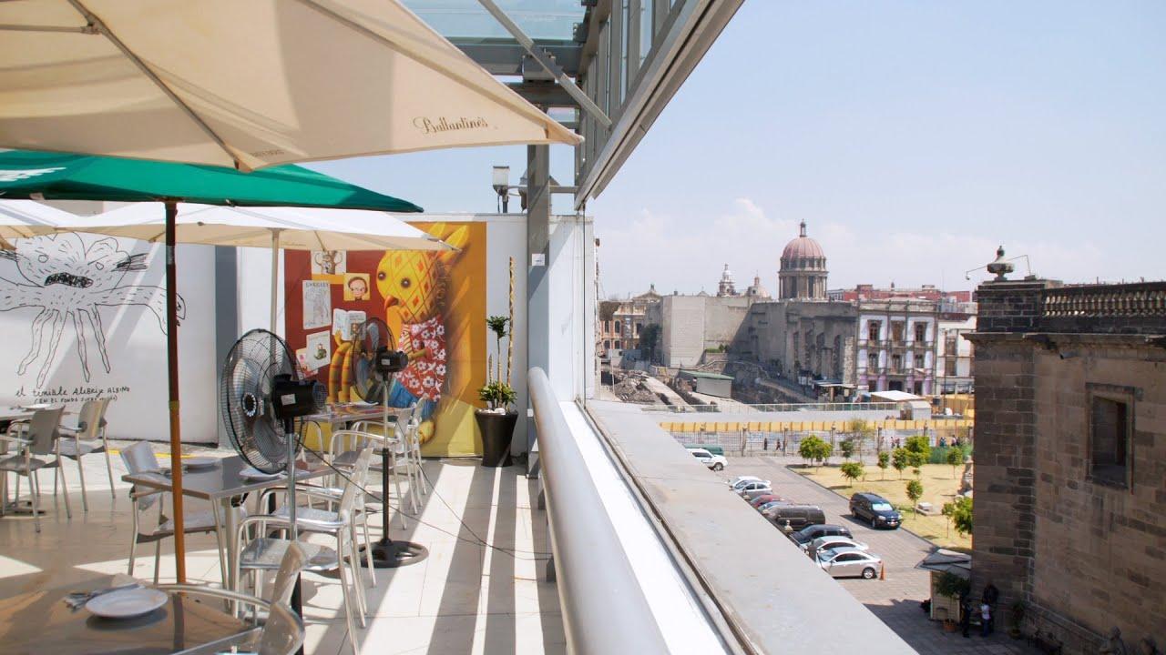 La Terraza Del Centro Cultural Español Dchic