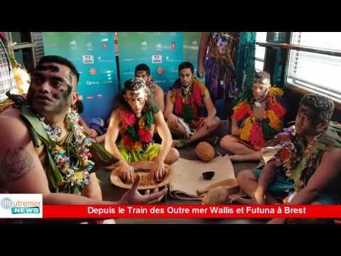 Vidéo] HEXAGONE . Depuis le Train des Outre mer Wallis et Futuna à Brest