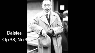 Gilels plays Rachmaninov Daisies Op.38, No.3