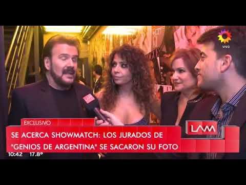 """Los jurados de """"Genios de Argentina"""" se sacaron su foto (LAM) - 12/04/19"""