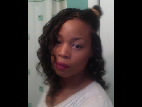 How To Do Micro Braids Curl Style Deep Wave Braiding