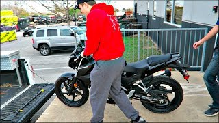 Buying the First Bike that I See Video