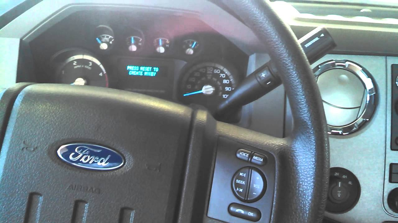 2012 ford f250 super duty vehicle health report first oil change youtube