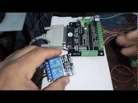 Conexion y Configuracion de Módulo Relé 5vdc dual 2 canal en Mach3 CNC