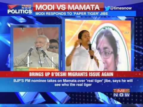 Mamata Banerjee versus Narendra Modi