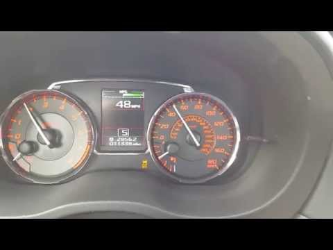 2015 Subaru WRX 6,000 RPM launch from 0-60 mph in under 5 seconds
