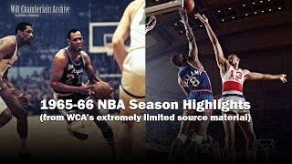 WCA's 1966 NBA Season Highlights