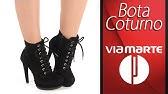 7565b044a Bota Coturno Salto Grosso Via Marte Tratorada 6010526412 - YouTube