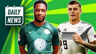 Der DFB-Neustart! Wolfsburg feuert Kylen Hinds! Wesely Sneijder macht Schluss! Neues aus Dänemark!