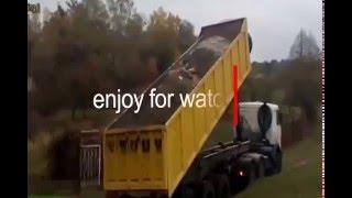 video lucu truk terbalik dijamin ngakak!!! funny video fail truck