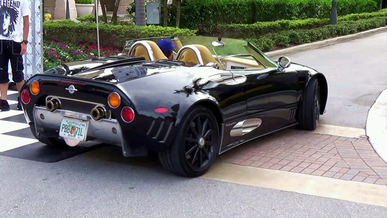 SPYKER C8 Laviolette LM85 EXOTIC CAR - YouTube