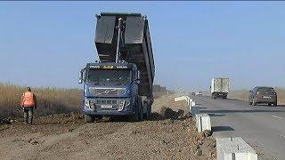 Возобновилась реконструкция трассы в сторону Покровки