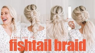 Learn how to fishtail braid! | For Beginners