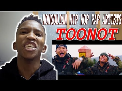 MONGOLIAN HIP HOP RAP ARTISTS - TOONOT [Official Video] REACTION