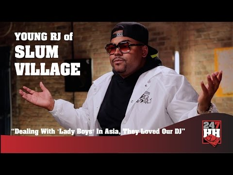 """Young RJ - Dealing With """"Lady Boys"""" In Asia, They Loved Our DJ (247HH Wild Tour Stories)"""