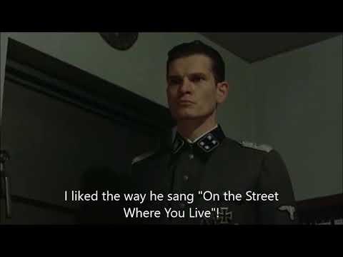 Hitler is informed Vic Damone has died