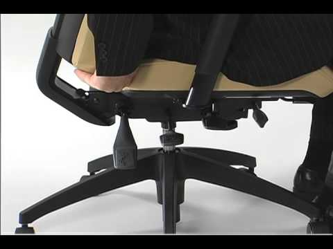 Global Chair Back Height Adjustment Video