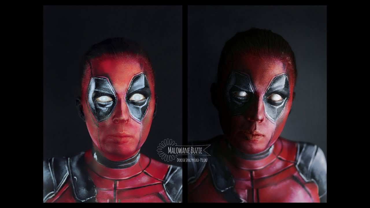 Deadpool No Mask With Repaired Face Deadpool Scarface