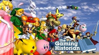 History of Super Smash Bros. (Part 1) - Gaming Historian