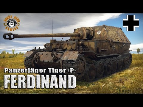 "War Thunder: Panzerjager Tiger (P) ""Ferdinand"", Tier-4 Heavy Tank Destroyer"