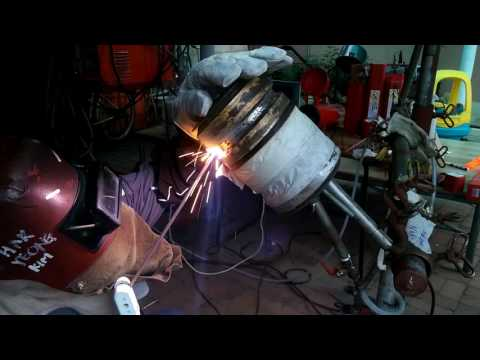 "GTAW + SMAW 6G - 5"" Stainless pipe welding  (preview)"