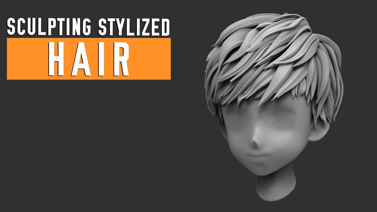 Hey everyone! I made a quick hair sculpting tutorial today for you.