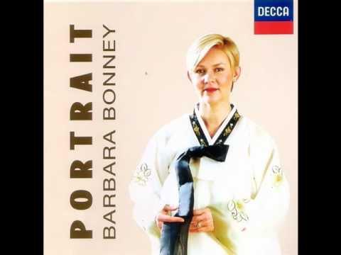 "Barbara Bonney sings Korean songs - 눈(Snow) from the album ""Portrait(1998)"