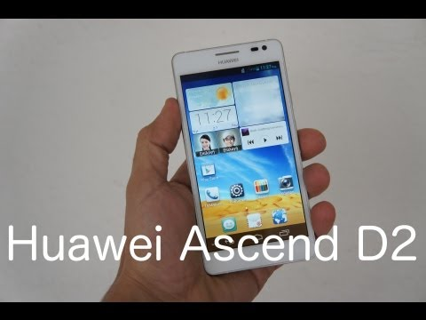Huawei Ascend D2 hands-on (Greek)