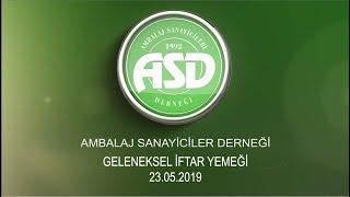 Zeki Sarıbekir Ev Sahipliğinde Geleneksel ASD İftar Daveti 2019