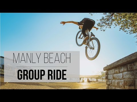 Manly Beach Group Ride - Sydney