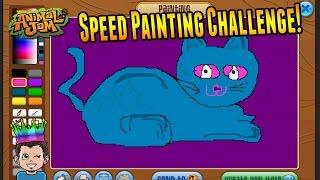 Animal Jam - Speed Painting Contest! - Shopkins, Cats, Shopking Logo