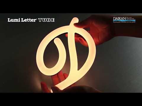 Lumi Letter TUBE | 2017 Daikan Co., Ltd.