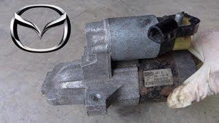 Mazda 6 2.3L Starter Removal