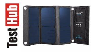BlitzWolf Solar Charger - ładowarka słoneczna - Test - Review - Recenzja - Prezentacja