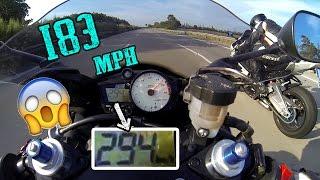 Video *Crazy Run* - R6 294 kmh | 183 mph - vs Z800 vs S1000RR vs R1- TOP SPEED - [1080p] download MP3, 3GP, MP4, WEBM, AVI, FLV Desember 2017