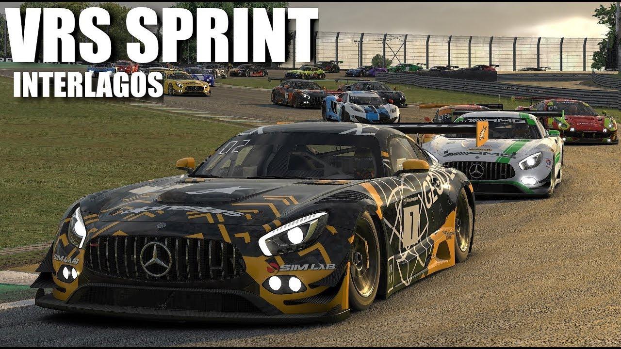 iRacing | VRS SPRINT | INTERLAGOS | MERCEDES AMG GT3