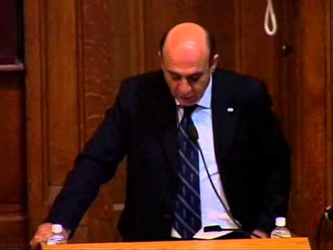 "Shaul Mofaz – ""The Iranian Regime: Nuclear Ambitions, Ideology and International Challenges"""