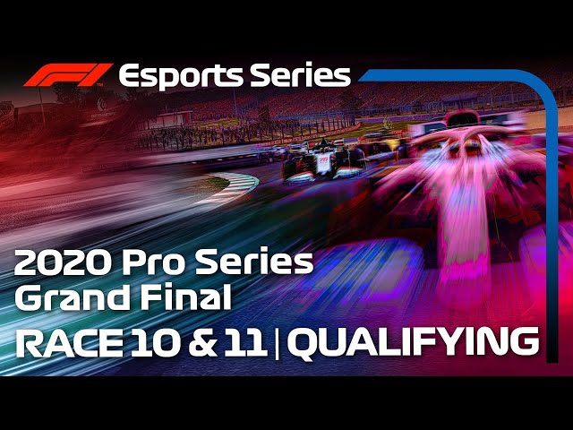 F1 Esports Pro Series 2020: Rounds 10 & 11 Qualifying