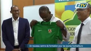 Un nouveau centre de formation pour les jeunes footballeurs de Guadeloupe