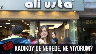 VLOG: Kadıköy'de Nerede, Ne Yiyorum  | Merlin Mutfakta Yemek Tarifleri