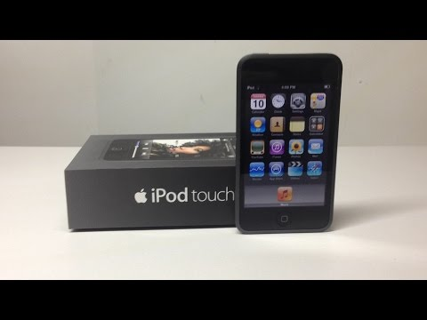iPod Touch 1st Generation Unboxing And Tour - Hugh Jeffreys