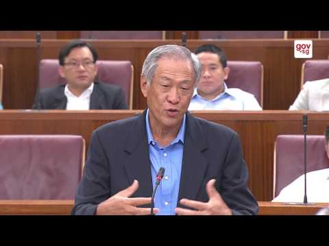 Minister Ng Eng Hen replies MP Low Thia Khiang's questions on the SAF Terrex.
