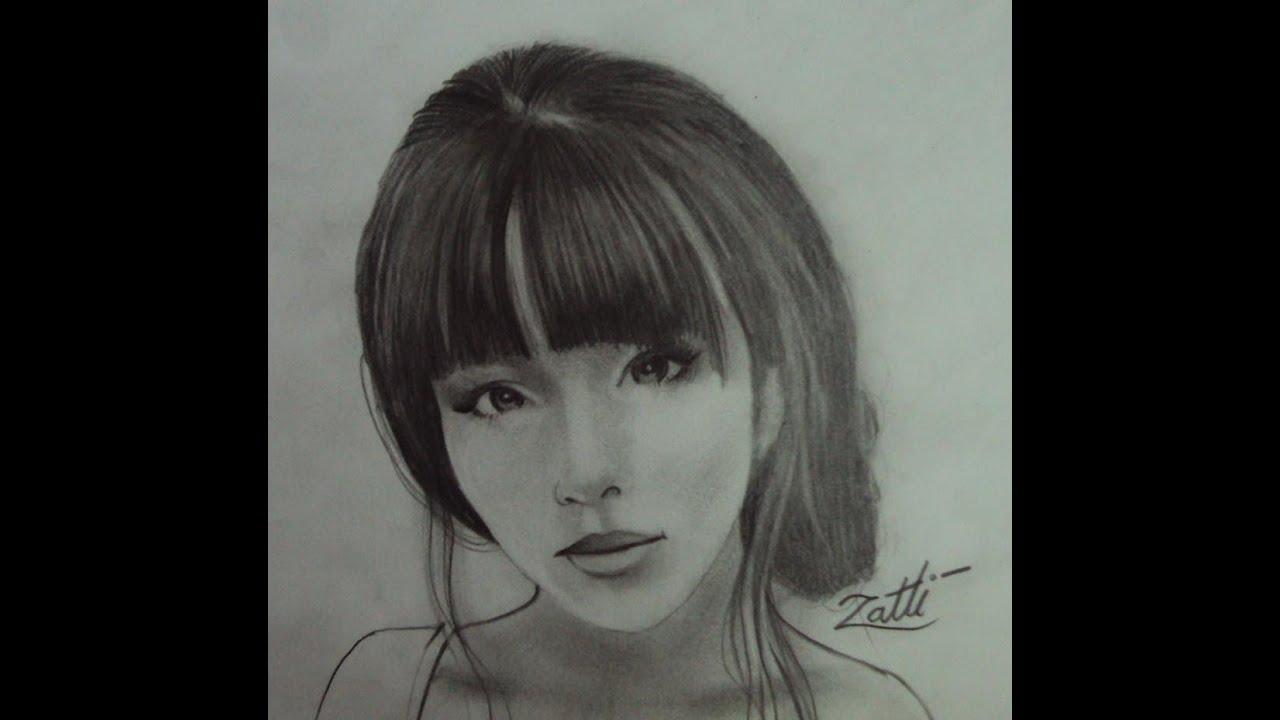 Rostos Desenhos: COMO DESENHAR UMA JAPONESA
